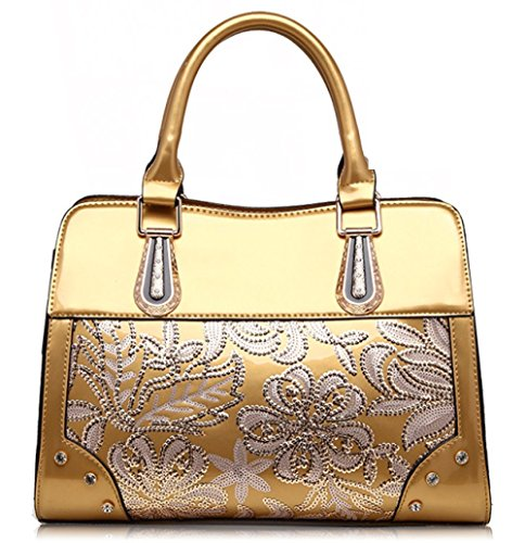 Shoulder Bags Handbags Fashion Sequined Perkin Bag Evening Bag Small Square Gold