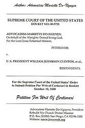 Petition For Writ of Certiorari