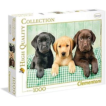 """Amazon.com: Three Labrador"""" Jigsaw Puzzles 1000 Pieces for"""