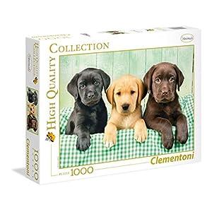 Clementoni 39279 Puzzle 1000 Pezzi I Tre Labrador