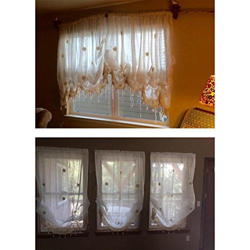 FADFAY Adjustable Balloon Living Shade Curtains Living Room