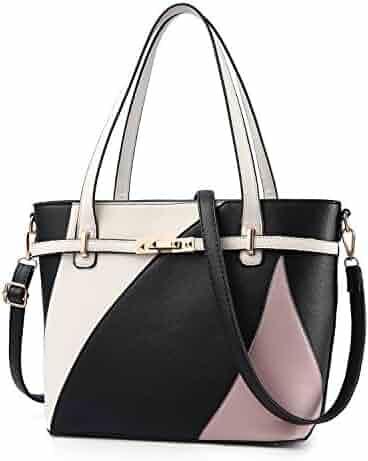 0ef81d1004fc Top Handle Bags for Women Leather Tote Purses Handbags Satchel Crossbody Shoulder  Bag form Nevenka