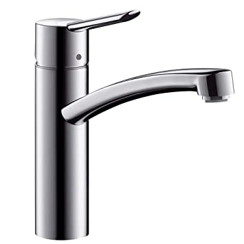 Dejlig hansgrohe Focus S kitchen tap with 360° swivel spout, chrome KZ-73
