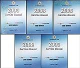 2008 SRT-8,300,Charger, & Magnum Repair Shop Manual 5 Vol Set Original