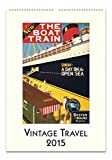 Cavallini Papers 2015 Vintage Travel Wall Calendar