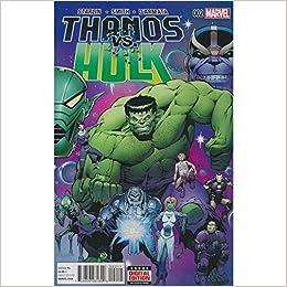 Thanos Vs Hulk #2: Amazon.com: Books