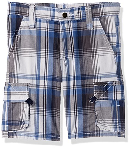Wrangler Authentics Big Boys' Fashion Plaid Cargo