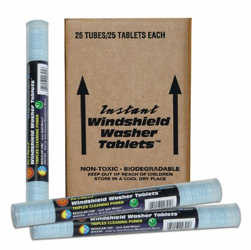 303 (230371-25PK) Instant Windshield Washer, 25 Tablet (Pack of 25) by 303 Products