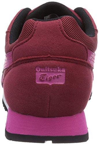 Onistuka Tiger Curreo - Zapatillas De Baloncesto para mujer Rojo - Rouge (2518-Burgundy/Magenta)