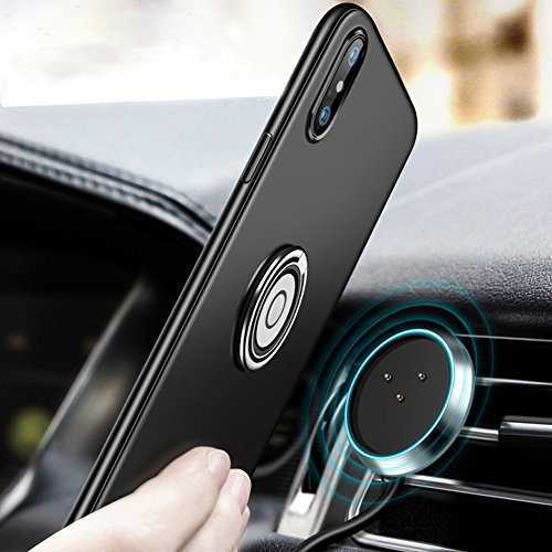 Wireless Charger Magnetic Wireless Car Charger Fast Charging Phone Holder Air Vent Magnet Car Mount with Phone Receiver Case 4 in 1 Wireless Car Charger(for iphone x) - 4in 1 Car Charger