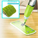Microfiber Spray Mop,360 Rotary Floor Cleaning Mop With 600ml Refillable Watertank , Reusable Washable Pad ,Ergonomic Handgrip ,for Hardwood, Wood,Laminate,Tiles Floor Cleaning,Safer than Steam Mop