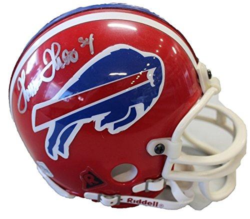 Buffalo Bills Autographed Helmets (Thurman Thomas Autographed Buffalo Bills Mini Helmet)