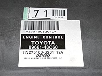 07-08 Lexus RX350 AWD 89661-48C60 Engine Computer ECM