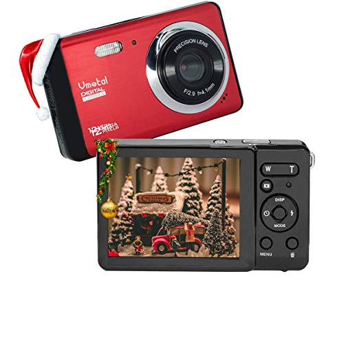 Digital Camera for Beginners, 12MP HD 3.0 inch TFT LCD Point and Shoot Camera: Mini Camera, Starter Camera with 8X Digital Zoom, Rechargeable Battery for Travel, Gathering, Gifts 10