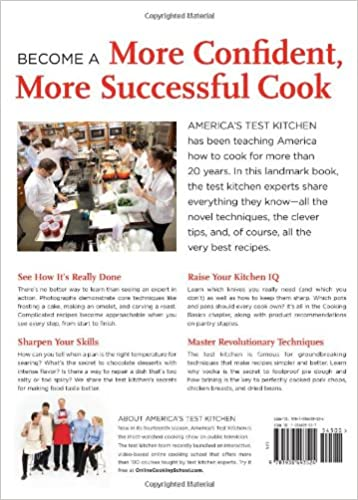 The America's Test Kitchen Cooking School Cookbook: Everything You ...