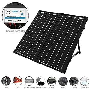 Amazon Com Acopower 60w Foldable Solar Panel Kit 12v