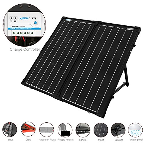 Portable Rv Solar Battery Charger - 5