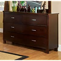 Crest View Dresser in Cherry Brown by Furniture of America