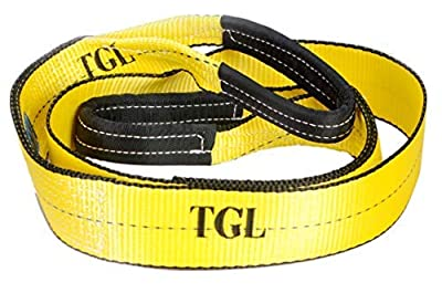 "3"", 8' Tree Saver, Winch Strap, Tow Strap 30,000 Pound Capacity"