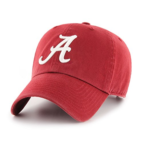 OTS NCAA Alabama Crimson Tide Women's Challenger Clean Up Adjustable Hat, Razor Red (Alabama Cap)