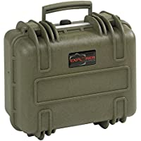 Explorer Cases 3317 G Waterproof Dustproof Multi-Purpose Protective Case with Foam, Military Green