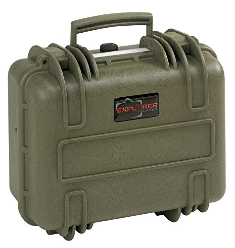 Explorer Cases 3317 G Waterproof Dustproof Multi-Purpose Protective Case with Foam, Military Green by Explorer Cases