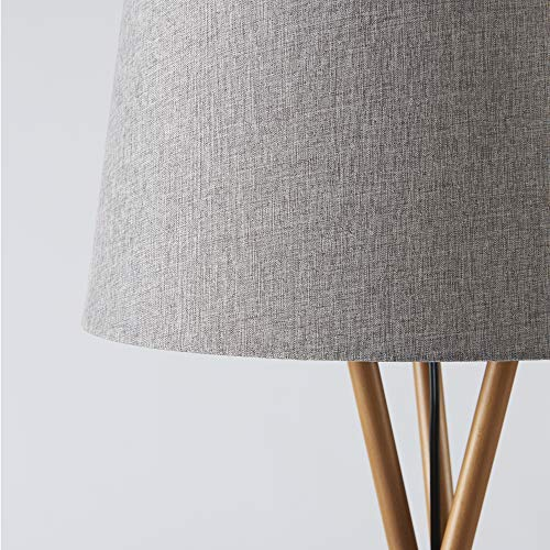Ambiore Wood Tripod Floor Lamp Maud Modern Elegant Indoor