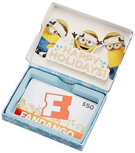 Fandango Minions $50 Gift Card - In a Gift Box (Fandango Card Gift)