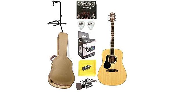 Alvarez RD26L - Guitarra acústica para zurdos (con estuche rígido ...