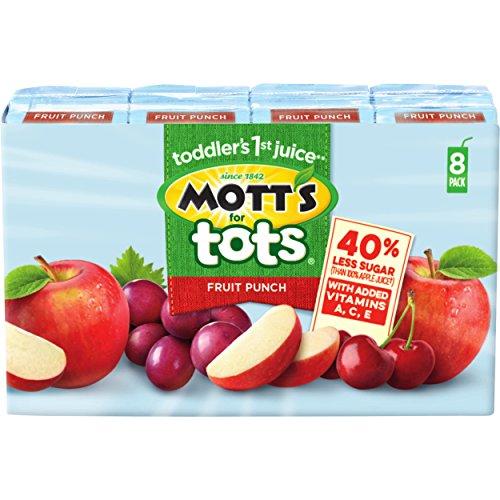 Mott's for Tots Fruit Punch, 6.75 fl oz boxes