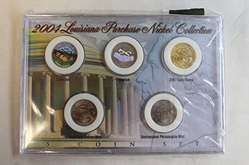 Genuine 2004 Louisiana Purchase Nickel Collection (CC2297)