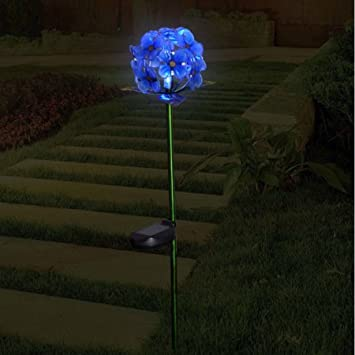 Better homes and gardens hydrangea stake blue