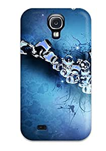 New Design Shatterproof TQIBghy5503pfudj Case For Galaxy S4 (abstract)
