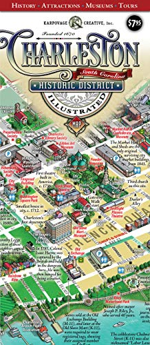 Charleston Historic District Illustrated Map