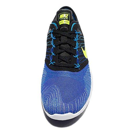 Nike Donna Flex Adatta Tr Cross Trainer Scarpe Racer Blu / Volt-nero-blu Bagliore