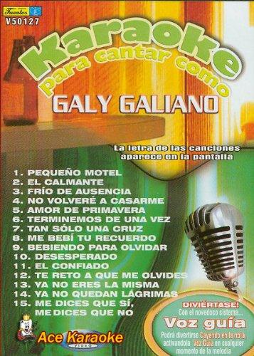 Karaoke Para Cantar Pop Galy Galiano V50127