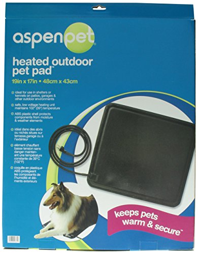029695276316 - Petmate Outdoor Heating Element, 19 inches by 17 inches, Black carousel main 1