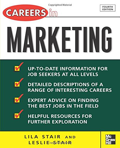Download Careers in Marketing (McGraw-Hill Professional Careers (Paperback)) PDF