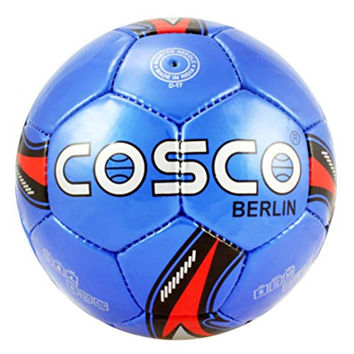 Cosco Berlin Football   Size: 5 Pack of 1, Blue