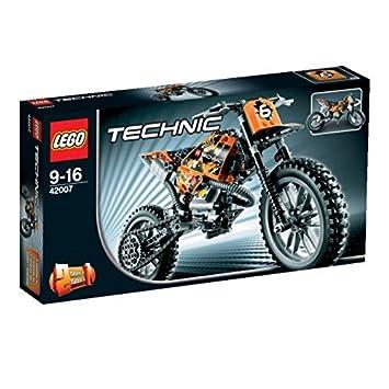 2e4c3030a7a LEGO Technic - Moto de Motocross, Juegos de construcción 42007: Amazon.es:  Juguetes y juegos