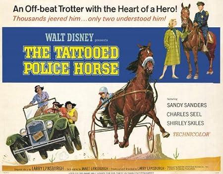Póster de película el caballo de la Policía tatuado 11 x 14 en ...
