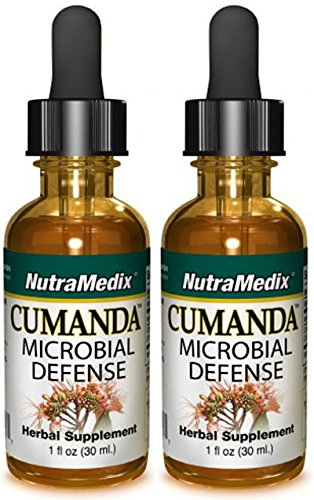 Nutramedix Cumanda Microbial Defense - Liquid 1 Ounce - Pack of 2