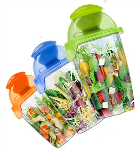 Compac Salad Blaster Dressing Container