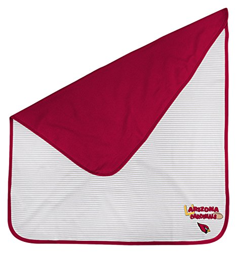 Outerstuff NFL Newborn Lil Kicker Blanket, Arizona Cardinals, Cardinal, 1 Size ()