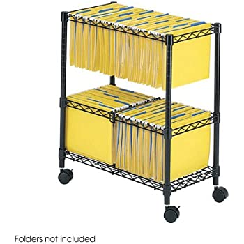 products two tier rolling file cart letter legal size folders sold separately black walmart with locking lid telescoping handle