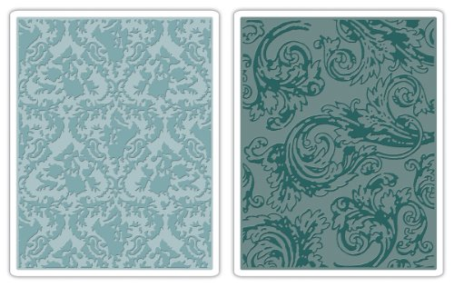 Sizzix Tim Holtz Damask Textured Fades Embossing by Sizzix