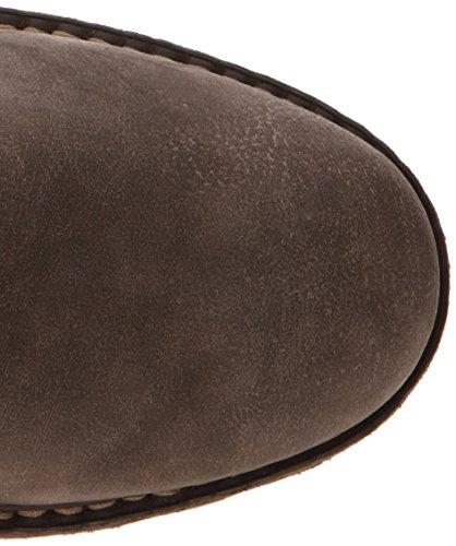 Rieker Y0440-45 - Botas de material sintético para mujer gris - Grau (stromboli/tan / 45)