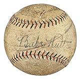 Babe Ruth Lou Gehrig Signed 1929 NY Yankees Team Signed Baseball BAS AB2314