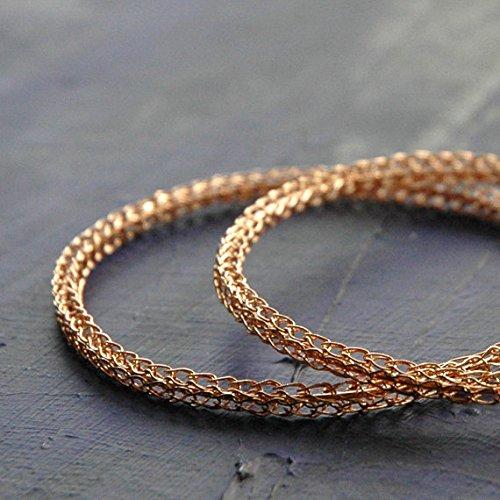 Hoop Earrings for Women - Extra Large Rose Gold Hoop Earring - Rose Gold Earrings by Yoola