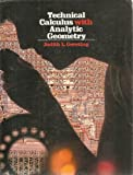 Technical Calculus with Analytic Geometry, Gersting, Judith L., 0534028934